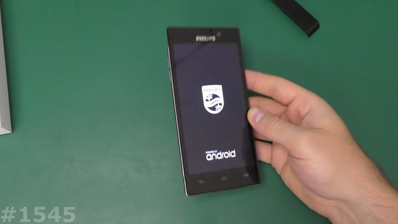 Разблокировка FRP Philips Xenium V787 Hard Reset Безопасный режим
