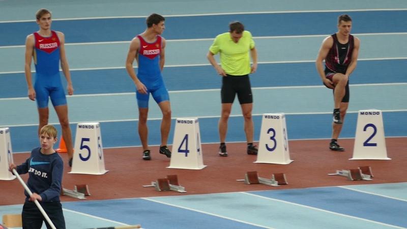 2018 НГ Приз   60м М финал А (Скулин Влад)