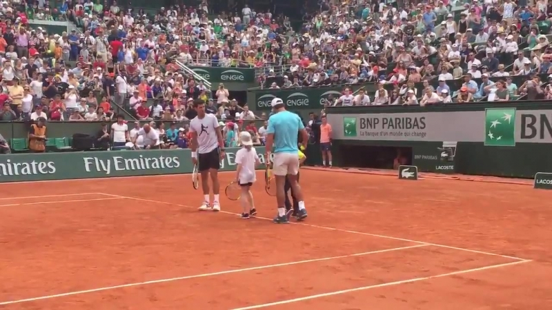 @DjokerNole and @RafaelNadal, meet your doubles partners!