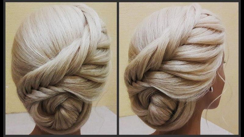 Прически.Обучение прическам.Красивые прически.Course on hairstyles.Beautiful hairstyles.