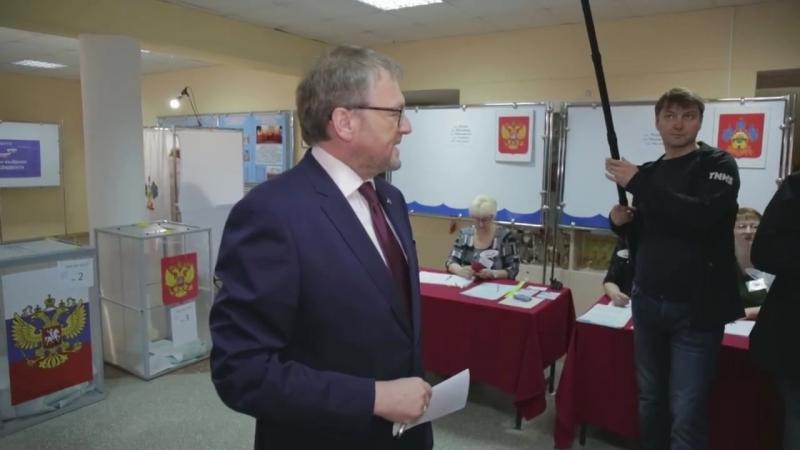 Борис Титов вместе с семьей проголосовали в Абрау Дюрсо