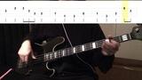 Jazz Walking Bass Line #3 - F Blues wtabs
