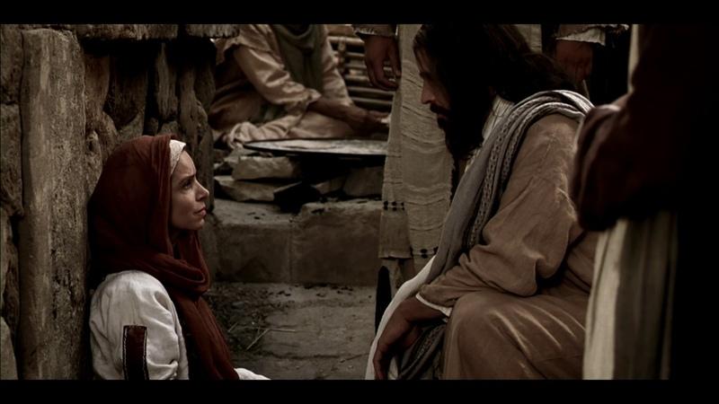 Иисус исцеляет женщину веры