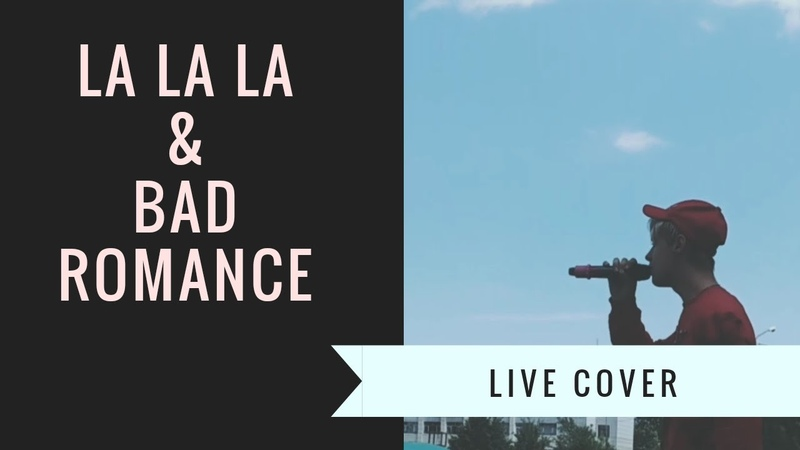 La La La and Bad Romance live cover by MAX SIMON
