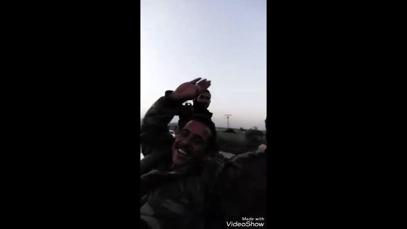 Армейцы гарнизона аэродрома Абу эд-Духур направляются к новой миссии