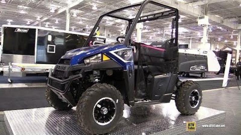 2018 Polaris Ranger 570 Utility ATV - Walkaround - 2017 Toronto Snowmobile ATV Show