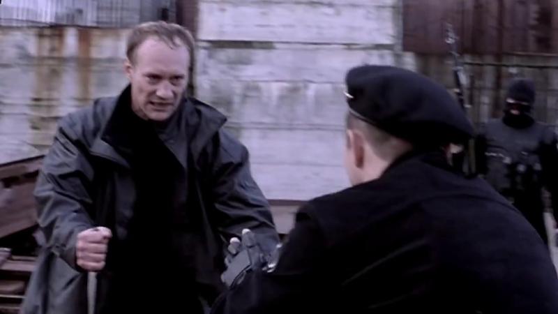Resident Evil 4 Leon vs Krauser knife fight HD