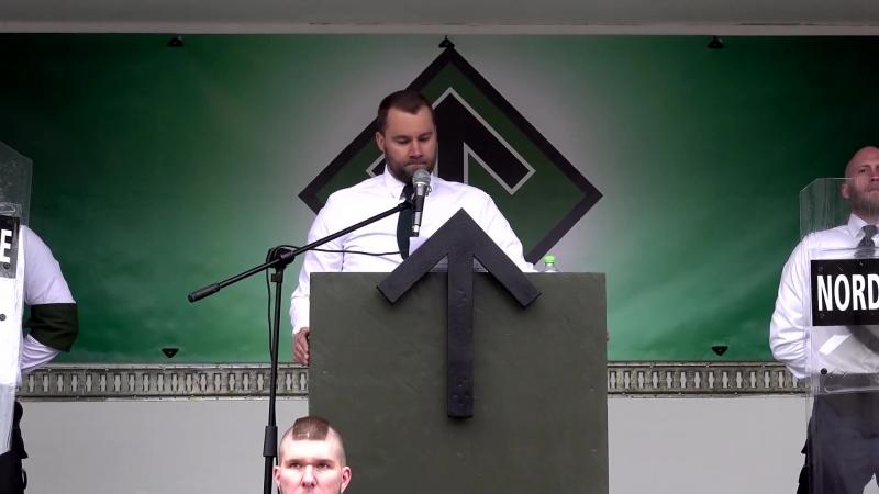 Pär Sjögren's speech at Ludvika May Day demonstration (Eng sub)