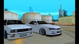 MTA TITAN RPG Средний дрифт на BMW M3 E30 _ Nissan GT-R 34