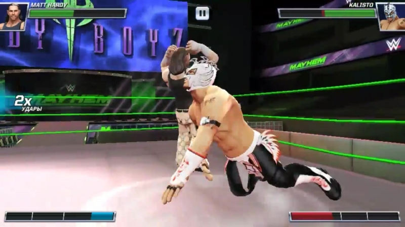 WWE Mayhem: все приёмы братьев Харди || Hardy boys all moves