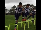 Strength and Co ordination Exercises in Youth Football