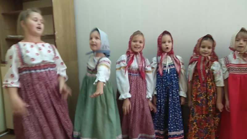 Пойду я на рынок фольклорный ансамбль Знаменские веретёнца
