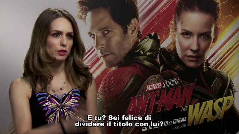 Ant-Man and The Wasp intervista a Paul Rudd ed Evangeline Lilly