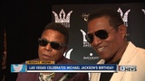 Michael Jackson Diamond Celebration held at Mandalay Bay Hotel and Casino