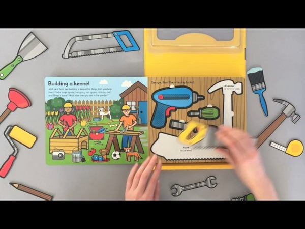 Let's Pretend Builder's Tool Kit - A Priddy Box Set