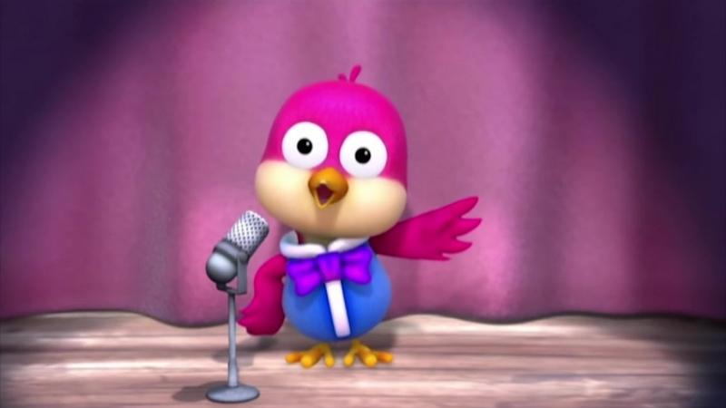 2 сезон 8 серия. Пингвинёнок Пороро. Я люблю петь.