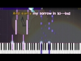 Lullaby for a Princess - _SOLO PIANO TUTORIAL w_ LYRICS_ - Ponyphonic - Synthesi
