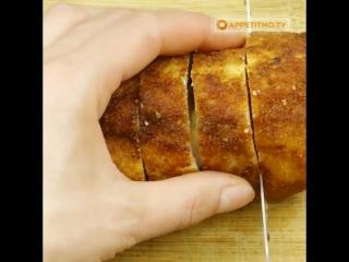 """Простой и вкусный рецепт для быстрого ужина - куриные рулетики """"Кордон блю"""""""