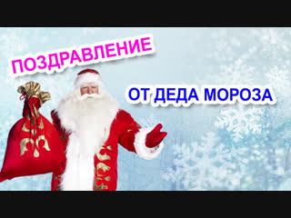 Искусственные елки в Тольятти. Поздравление от Деда Мороза.