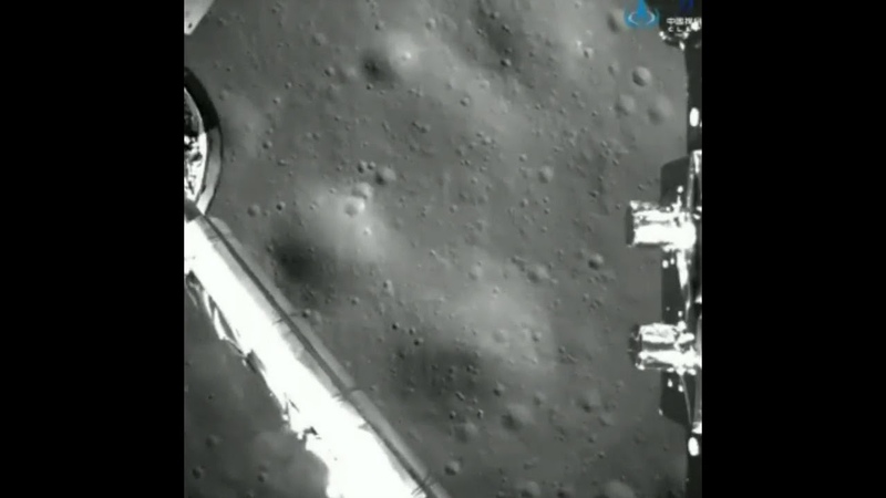 Посадка китайского модуля на обратную сторону Луны 2019