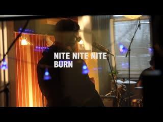 Nite nite nite - burn (live)