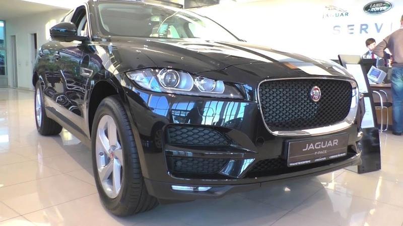 2018 Jaguar F-Pace. Обзор (интерьер, экстерьер, двигатель).