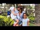 ВТЕМЕ: С кем отдыхает телеведущая Ксения Бородина в Эмиратах?