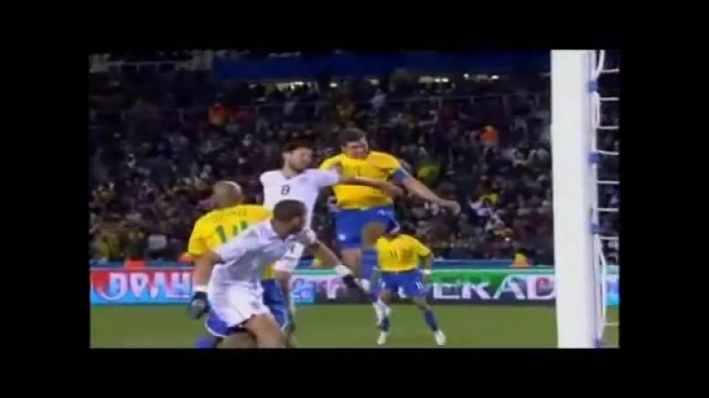 Бразильские футболисты Лусио и Кака о вере в Иисуса