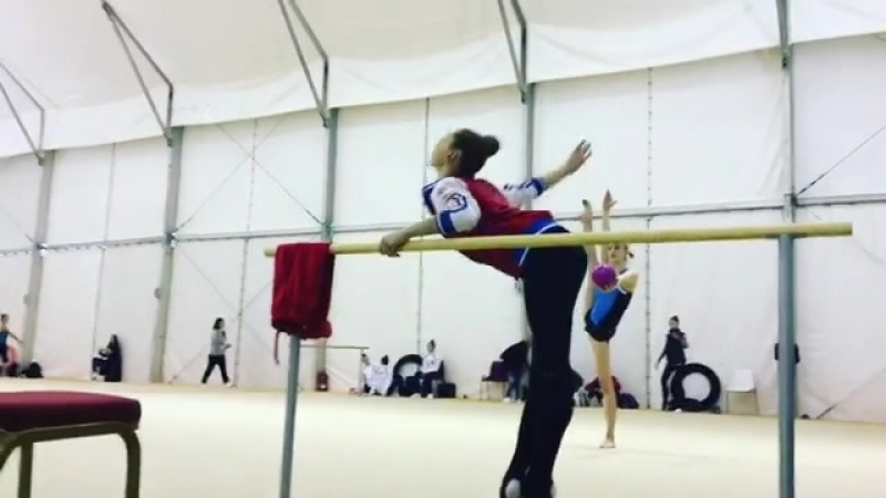 Полина Шматко — Instagram Алексея Ивкова Чемпионат Европы 2018