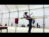 Полина Шматко (тренировка) // Чемпионат Европы 2018, Гвадалахара