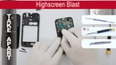 How to disassemble 📱 Highscreen Blast Take Apart Tutorial