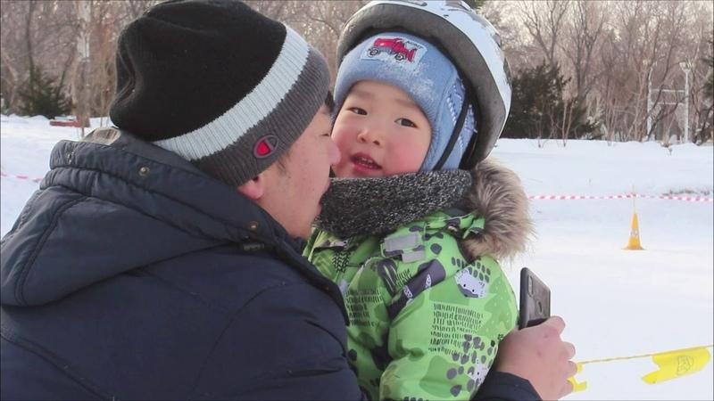 Strider Snow Racing Sakhain открытие гоночного сезона на острове