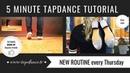 Beginner Friendly Tap Dance Warm-Up - 42nd video - 5 Minutes