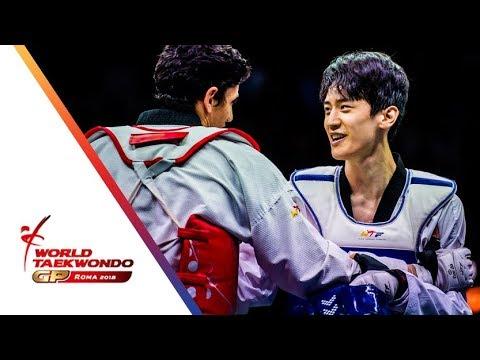 Roma 2018 World Taekwondo GP -Final [Male -68Kg] LEE, DAE-HOON(KOR) Vs DENISENKO, ALEXEY(RUS)