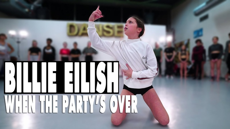 Billie Eilish - when the partys over | Contemporary Dance | Choreography Sabrina Lonis