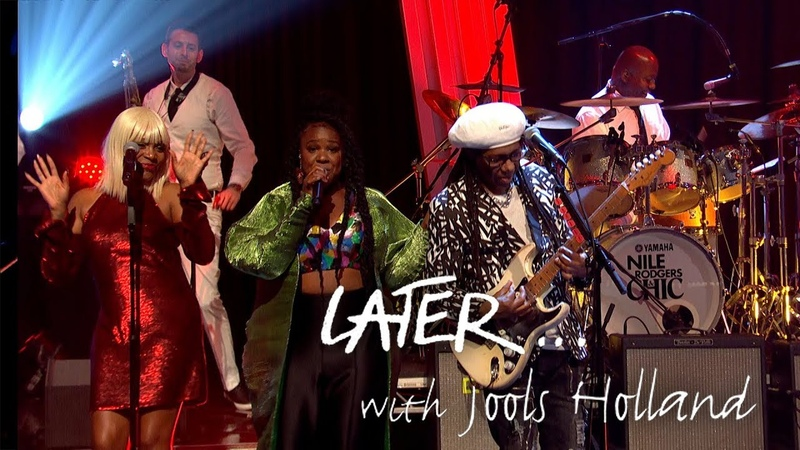 Nile Rodgers Chic, NAO Mura Masa - Boogie All Night - Later… with Jools Holland