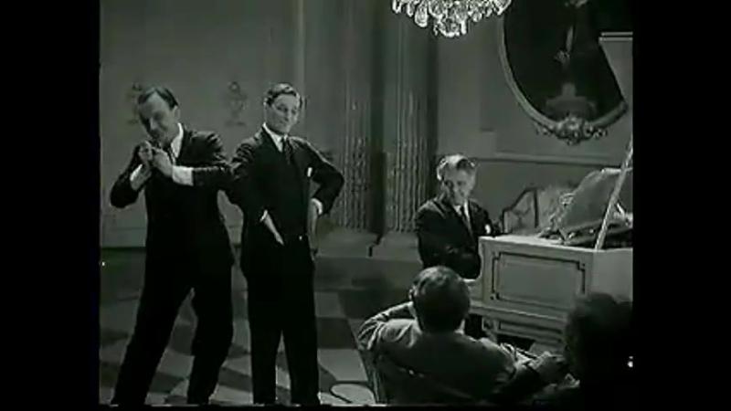 Willi Forst, Oskar Karlweis and Walter Janssen Perform In Deinen Augen liest das Herz von Wien (1930)