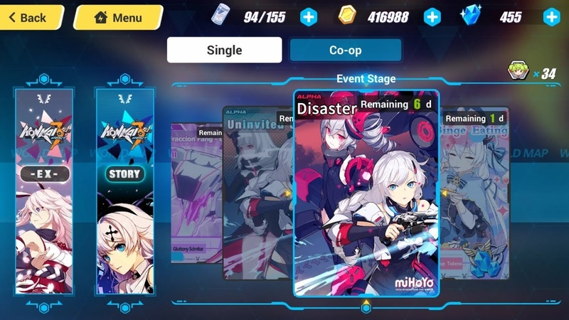 Honkai 3rd: Disaster (Crisis) - The End of Anti-Entropy (SEA)