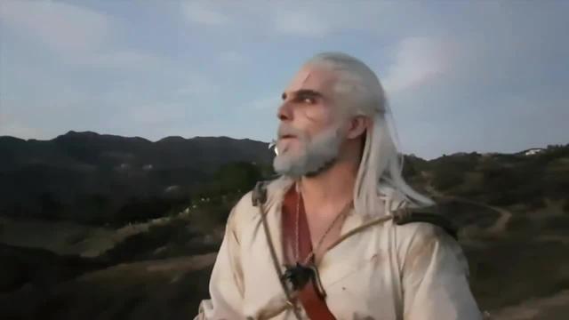 Maul Cosplay Geralt and Roach