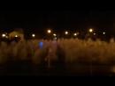 Ночной фонтан в Парке Горького г. Казань
