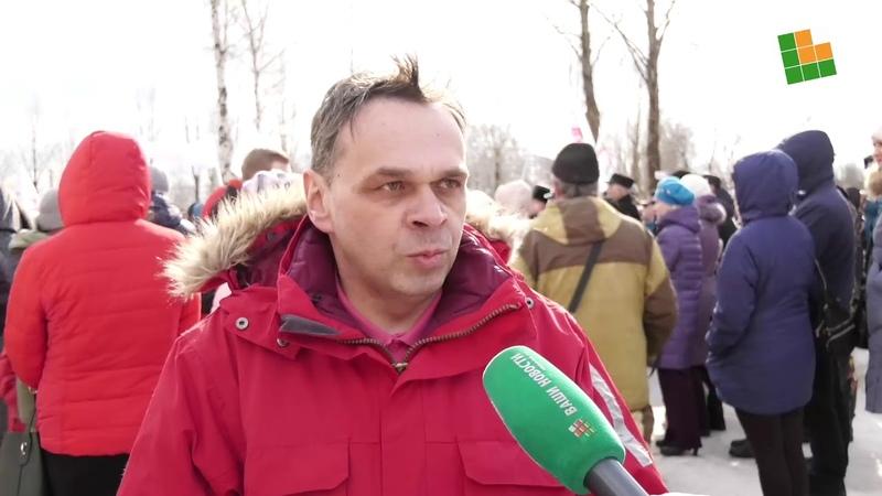 Митинг в Окуловке против оптимизации здравоохранения 3