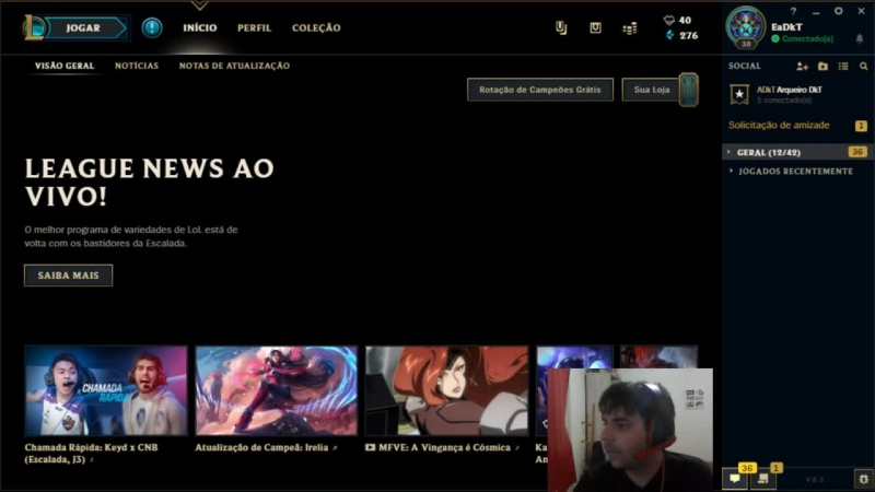 LEAGUE OF LEGENDS HOJE É DIA DE RANQUEADA EP 11