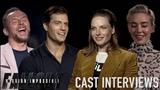 Mission Impossible Fallout Cast Interviews! Henry Cavill, Simon Pegg, Rebecca Ferguson