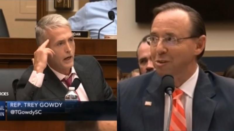 'Russian probe was all a SCAM'Trey Gowdy tears congress apart!