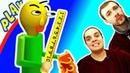 БАЛДИ Догоняет БолтушкУ и ПРоХоДиМЦа! 256 Игра для Детей - Балди Басикс