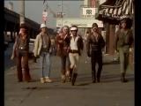 Village People - YMCA OFFICIAL Music Video 1978 (хорошее настроение, юмор, смешное видео, ковбой и индеец танцуют, строитель).