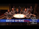 David Byrne Performs 'Everybody's Coming To My House'