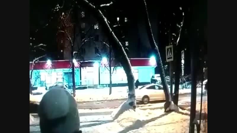 Водитель не заметил зебру и сбило девушку.