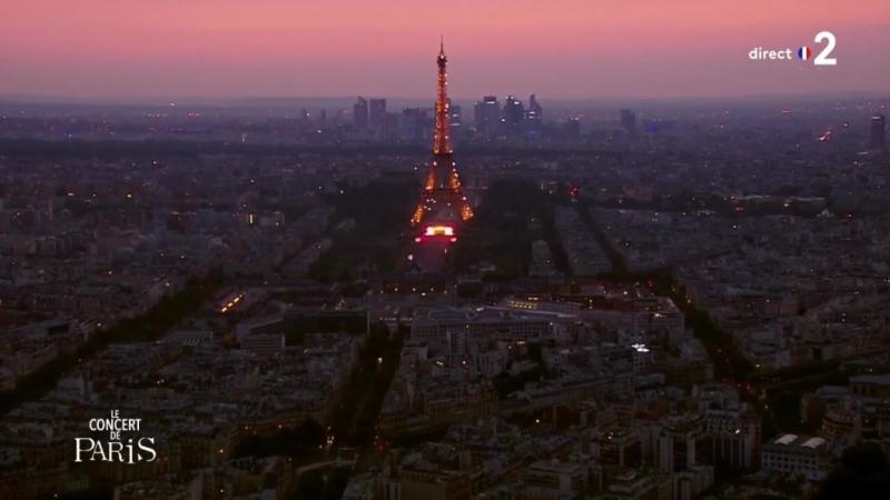 Concert de Paris et Feu d'artifice 2018 / Концерт и фейерверк ко дню взятия Бастилии (14 juillet 2018)