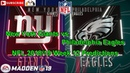 New York Giants vs. Philadelphia Eagles | NFL 2018-19 Week 12 | Predictions Madden NFL 19
